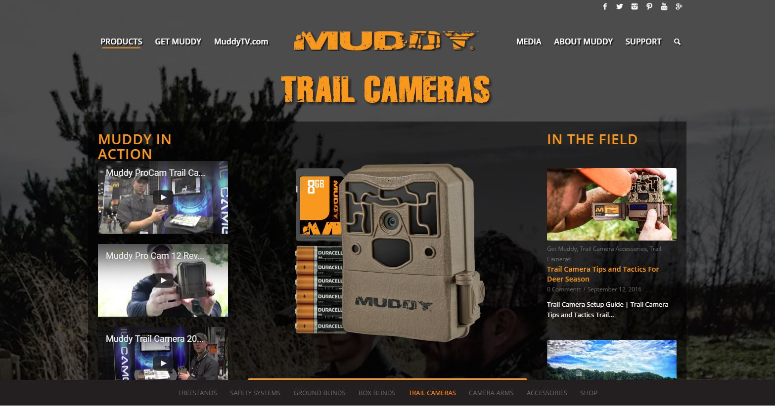 Trail Cameras Muddy Outdoors Muddy Outdoors