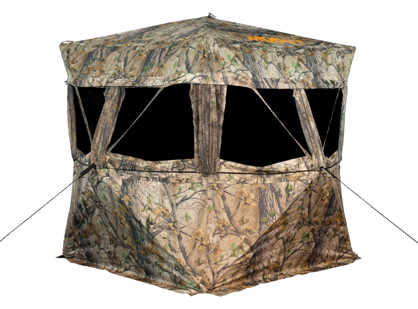 Tips For Setting Up Ground Blinds Under Roosted Birds